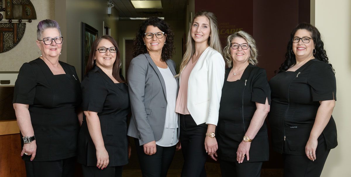 Acadie Optometry Clinic Team